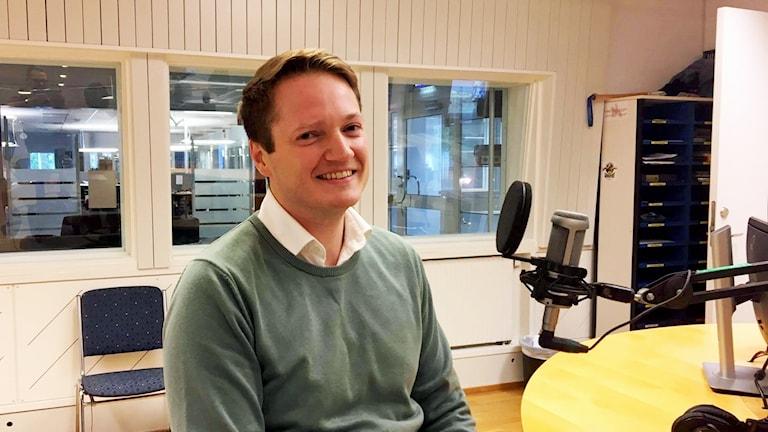 Philip Näslund, miljösamordnare vid Umeå kommun