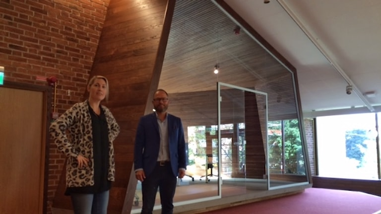 Ingela och Johnny i gamla Pansalen Foto Åza Meijer