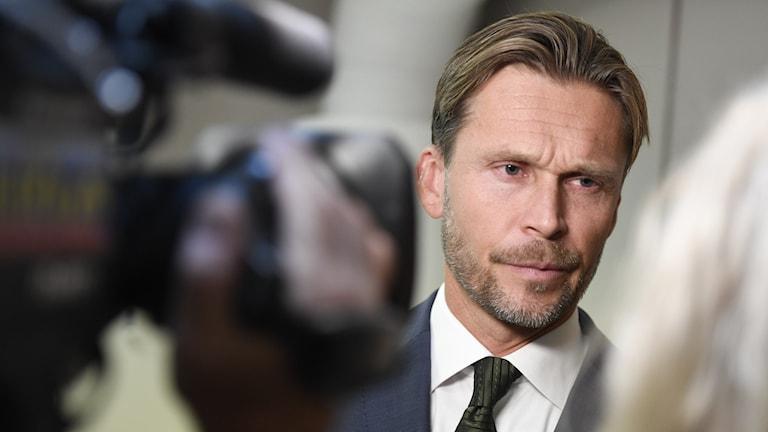 Peter Swaffer, avdelningschef för luftfart på Statens haverikommission.