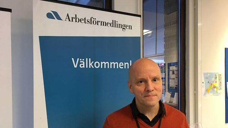 Björn Nordberg på Arbetsförmedlingen i Umeå