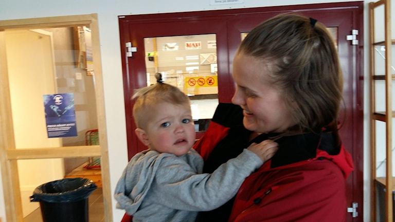 Lennox och Kajsa Hollström. Foto: Linnea Hedelilja