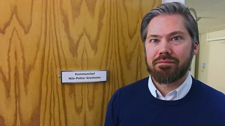 Nils-Petter Grenholm, kommunchef i Åsele