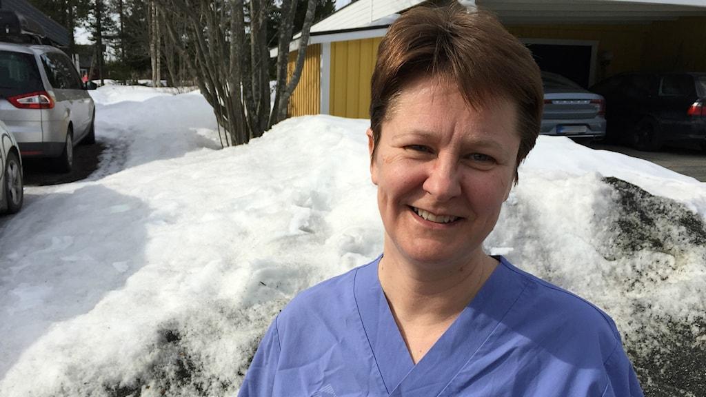 Annika Larsson primärvårdsläkare, Kåge-Morö backe hälsocentral