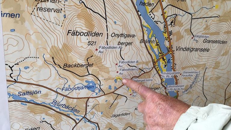 Bengt Ljung pekar ut guldfyndigheten
