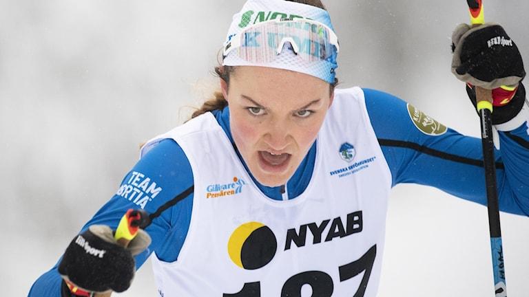 Sveriges Moa Lundgren. (Arkivbild)