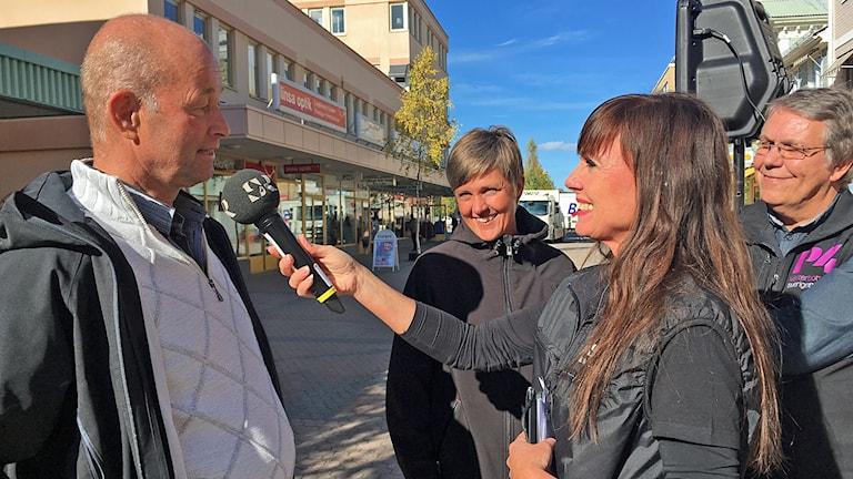 Åza Meijer intervjuar Per Ågran och Therese Åman