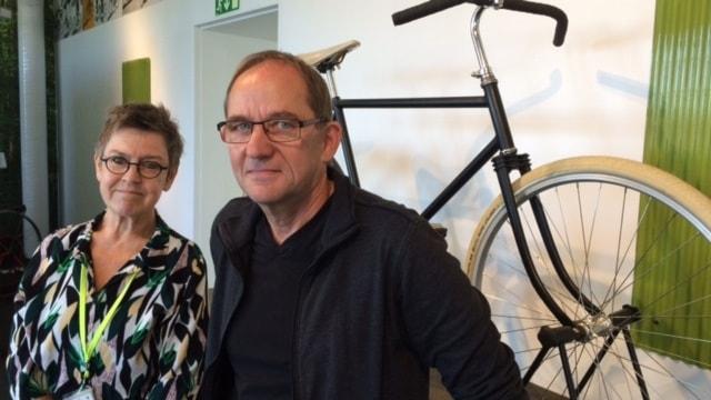 Eva Hellerqvist och Alf-Martin Fagertun