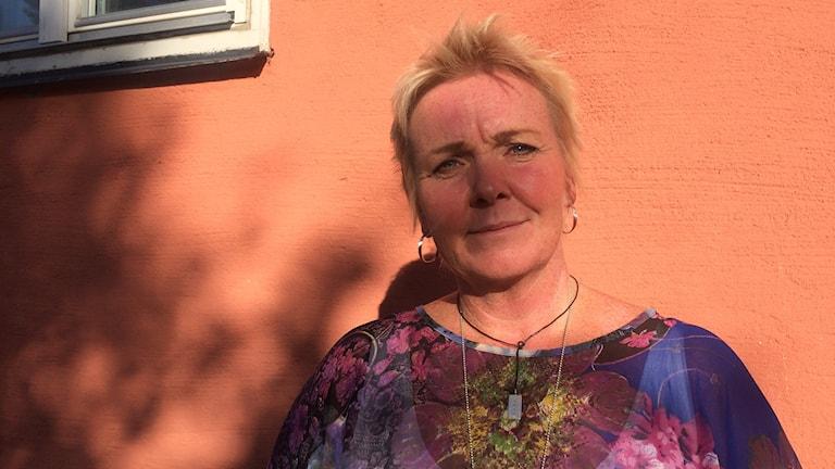 Anna Wallgren, verksamhetschef på barn och ungdomspsykiatrin i Västerbottens läns landsting. Foto: Lillemor Strömberg/Sveriges Radio.