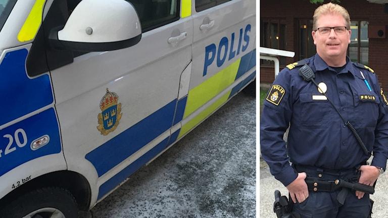 Magnus Söderberg är trafikpolisens gruppchef i Skellefteå