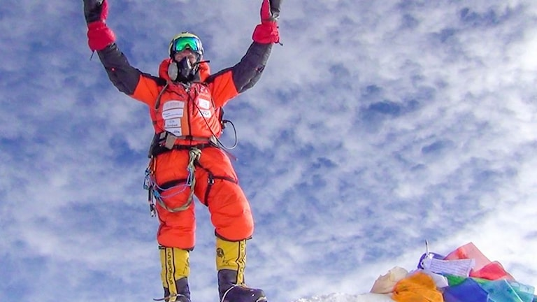 Robin Trygg på Mount Everest