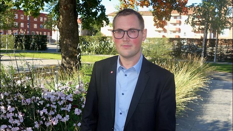 Fredrik Stenberg Socialdemokrat och ordförande i För o Grundskolenämnden Skellefteå