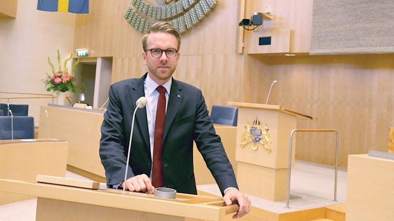Andreas Carlson gruppledare för KD i riksdagen