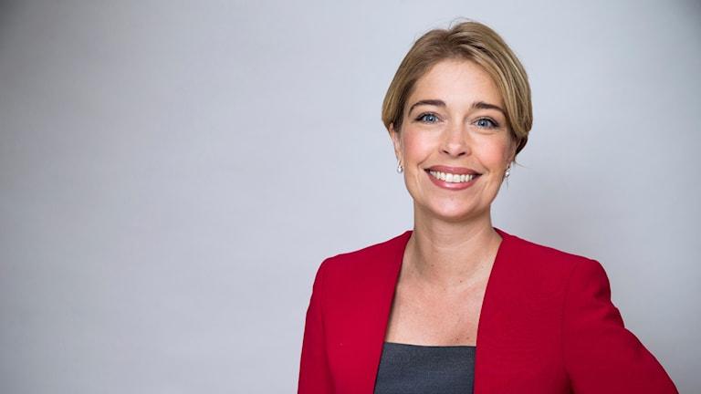 Porträttbild på Annika Strandhäll