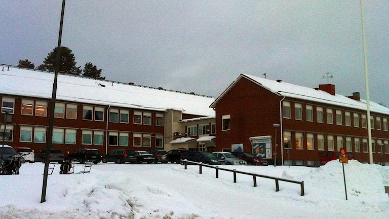 Malgomajskolan i Vilhelmina