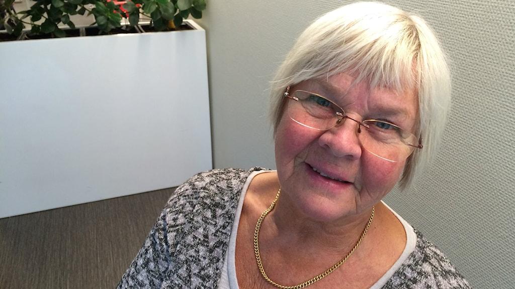 Marianne Olofsson, släktforskare från Vindeln.