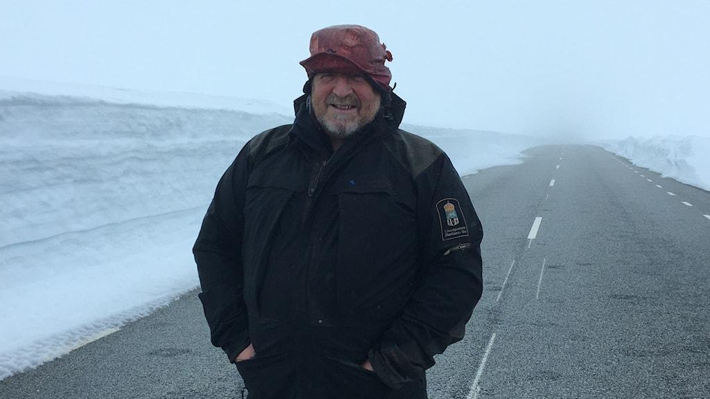 Håkan Berglund, naturbevakare på Länsstyrelsen i Jämtland.