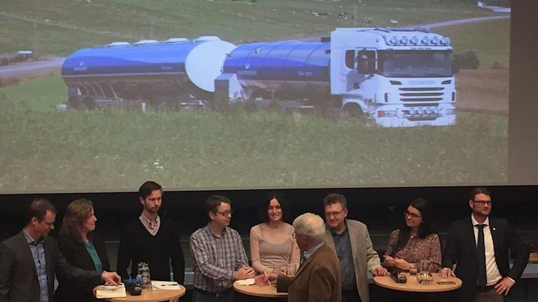 Debatt i Dorotea om kilometerskatt