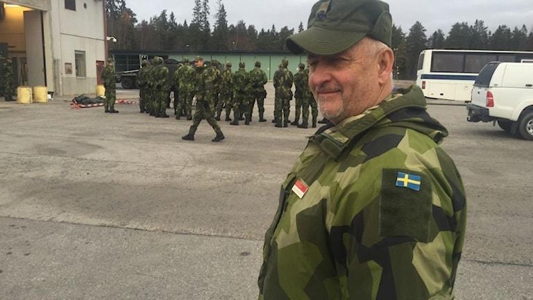 Military Camp hålls i Umeå just nu. Germund Renström är kurschef under veckan.
