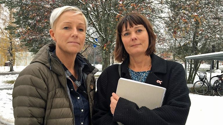 Anna Sundelin är samordningsrektor på Dragonskolan och Carina Adolfsson Nordström är ny rektor för det programmet