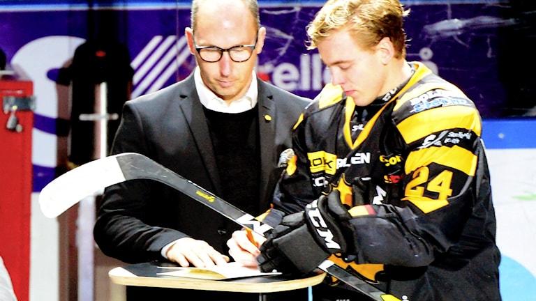 Skellefteås Andreas Wingerli skrev på för ytterligare två säsonger