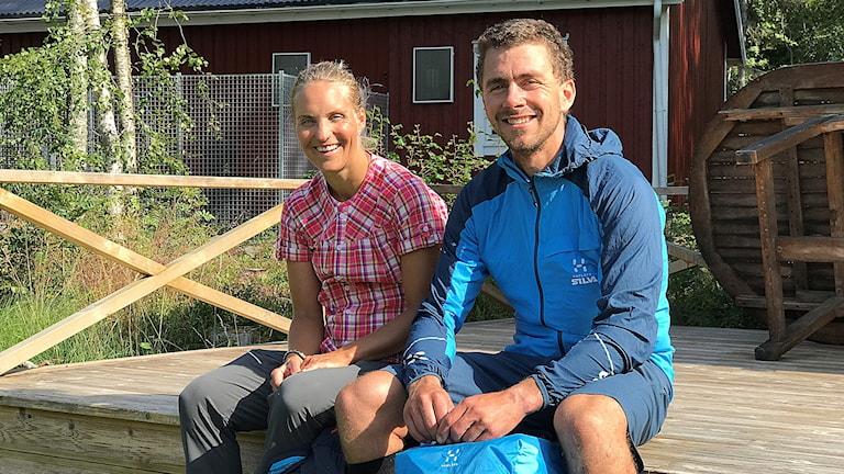 Josefina Wikberg och Björn Rydvall är nyblivna silvermedaljörer i VM i multisport.