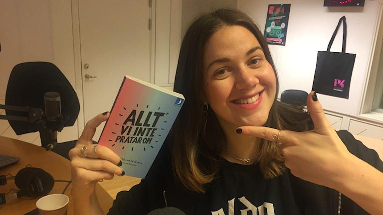 """Ida Östensson, grundare till stiftelsen Make Equal är aktuell med boken """"Allt vi inte pratar om""""."""