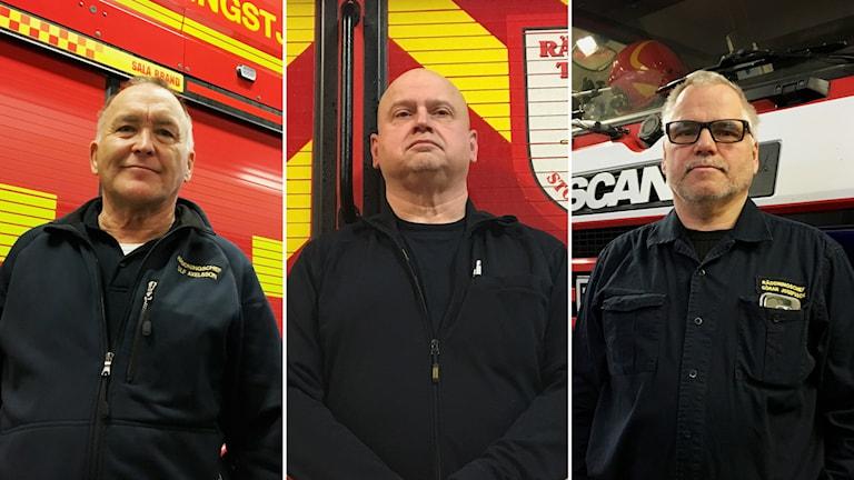 Räddningschefer i inlandet kollage