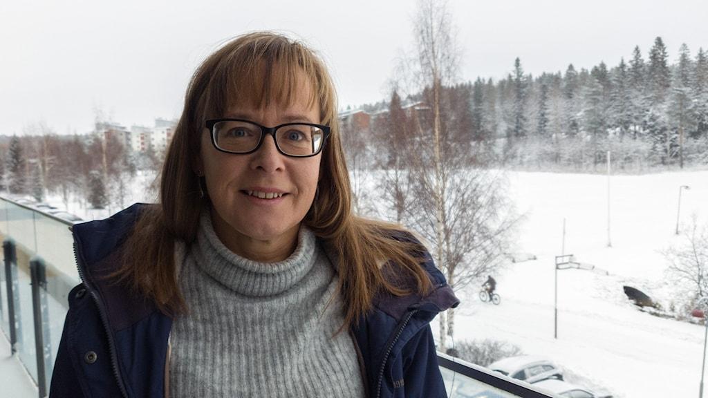 Anna Larsson vid Umeå universitet