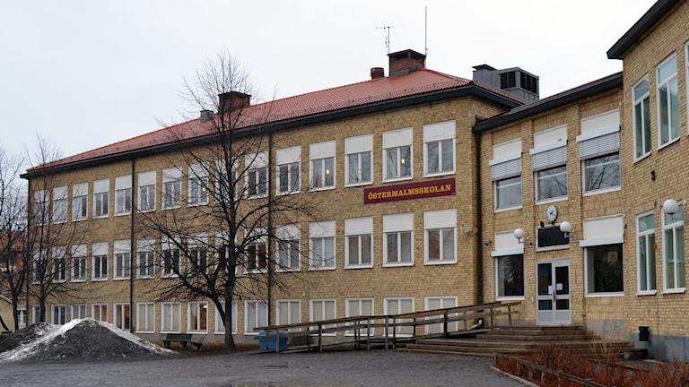 Östermalmsskolan, Umeå. Foto: Peter Öberg, Sveriges Radio.