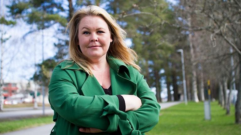 Erica Dahlgren spanar i P4 Västerbotten