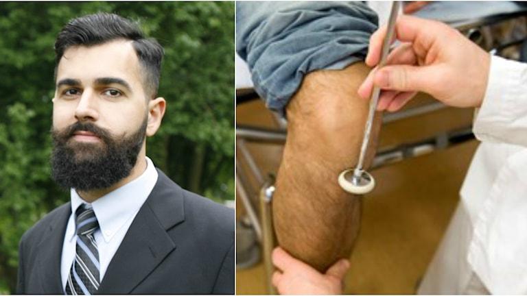 Hassan Baqer klarade det första läkarprovet