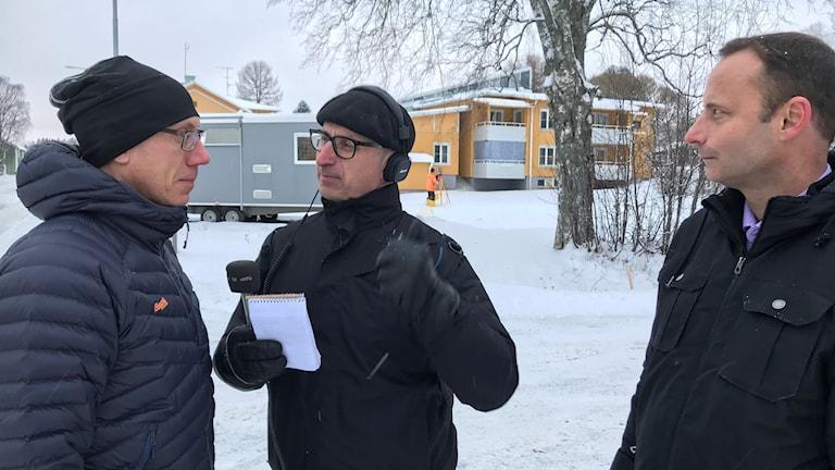 Tobias Rosencrantz, Anders Wikström och Patrik Nilsson