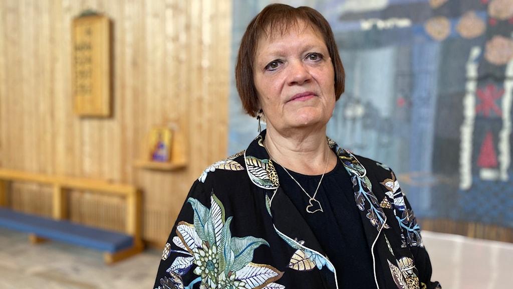 Ingrid Pavval, präst och församlingsherde i Ålidhems församling.