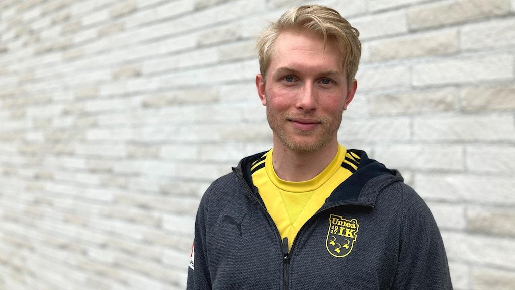 Samuel Fagerholm, tränare och sportchef för UIK.