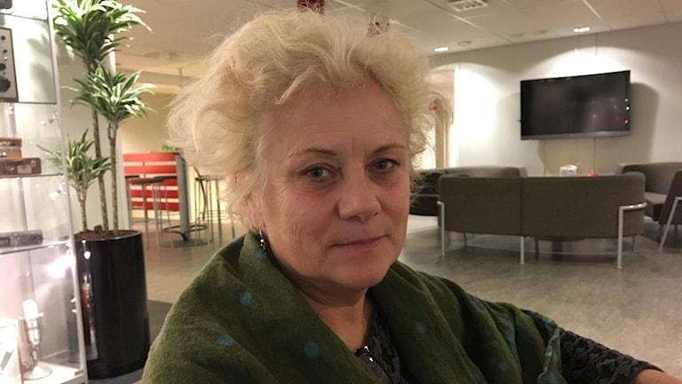 ordförande för Rädda Barnen i Västerbottens distrikt, Anneli Ivarsson.