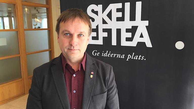 Lorents Burman (S) kommunalråd och kommunstyrelsens ordförande i Skellefteå.