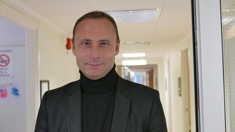 Patrik Nilsson, socialdemokratiskt kommunalråd i Robertsfors.