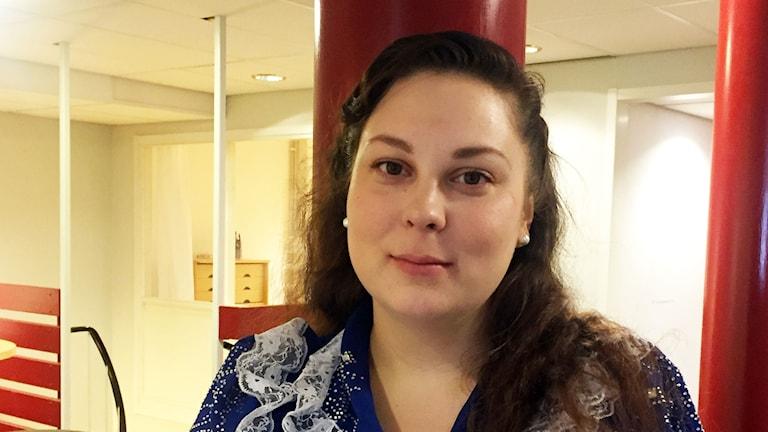 Sonja Nyman från Romska hjulet