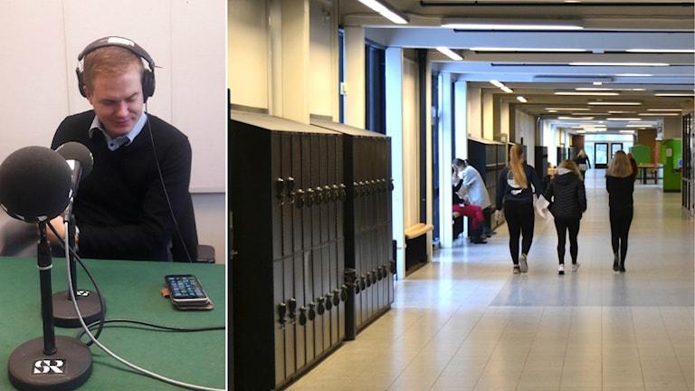 Gustav Fridolin svarar på frågor om trakasserier i skolan.