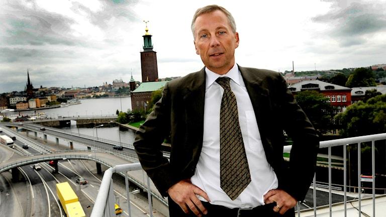 Lennart Evrell när han tillträdde som vd för Boliden 2008.