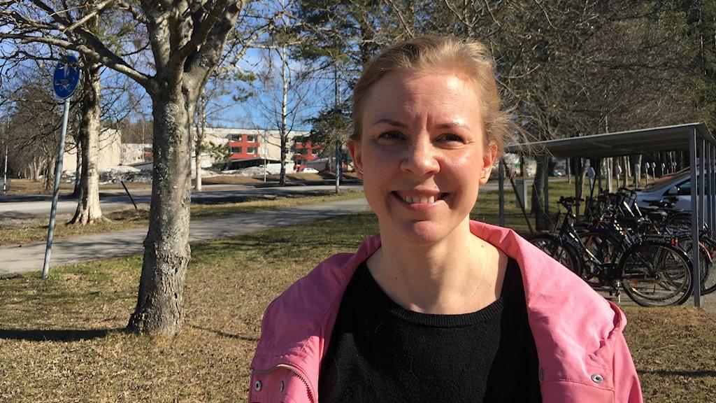 Hanna Malmberg Gavelin vid Umeå Universitet