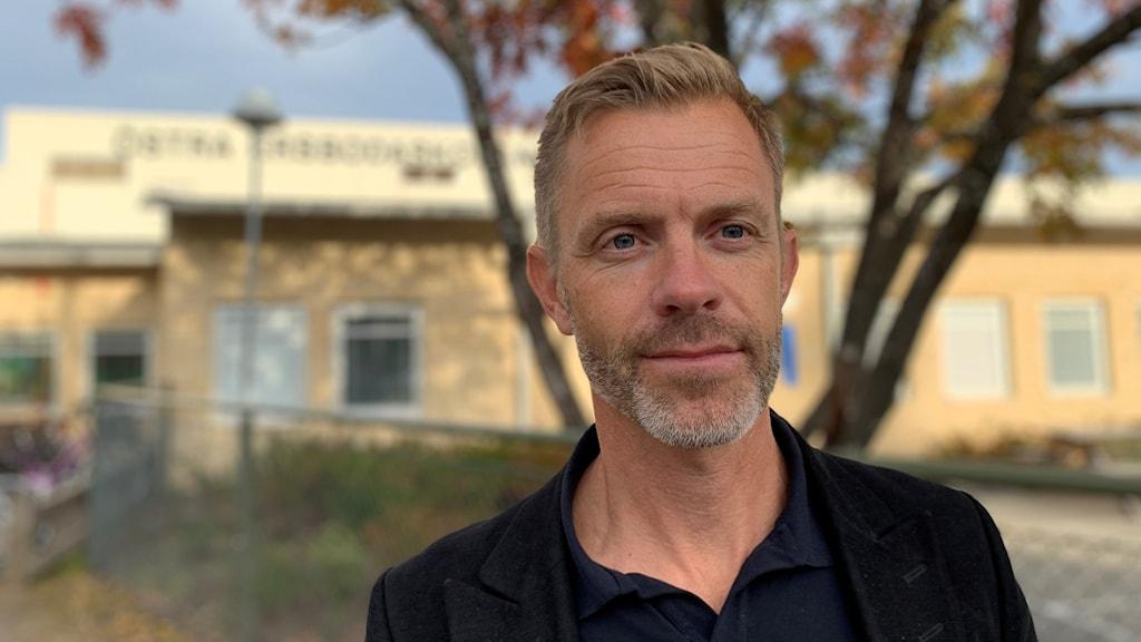 Skolstrategen Fredrik Strandgren.