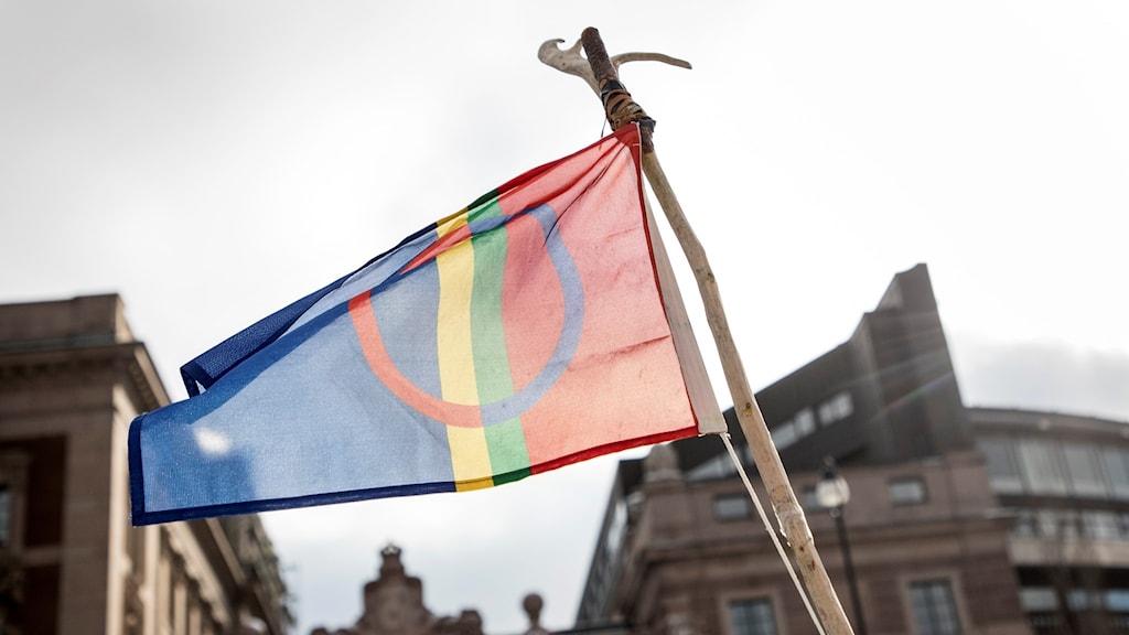 Samiska flaggan.