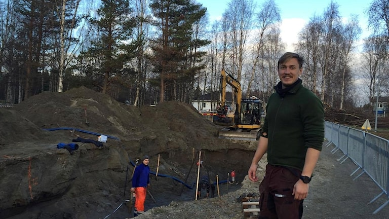 Viktor Gydemo, studerande Geovetenskap vid Umeå universitet