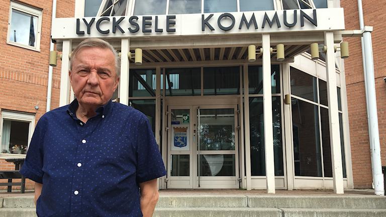 Christer Rönnlund (M) kommunalråd i Lycksele