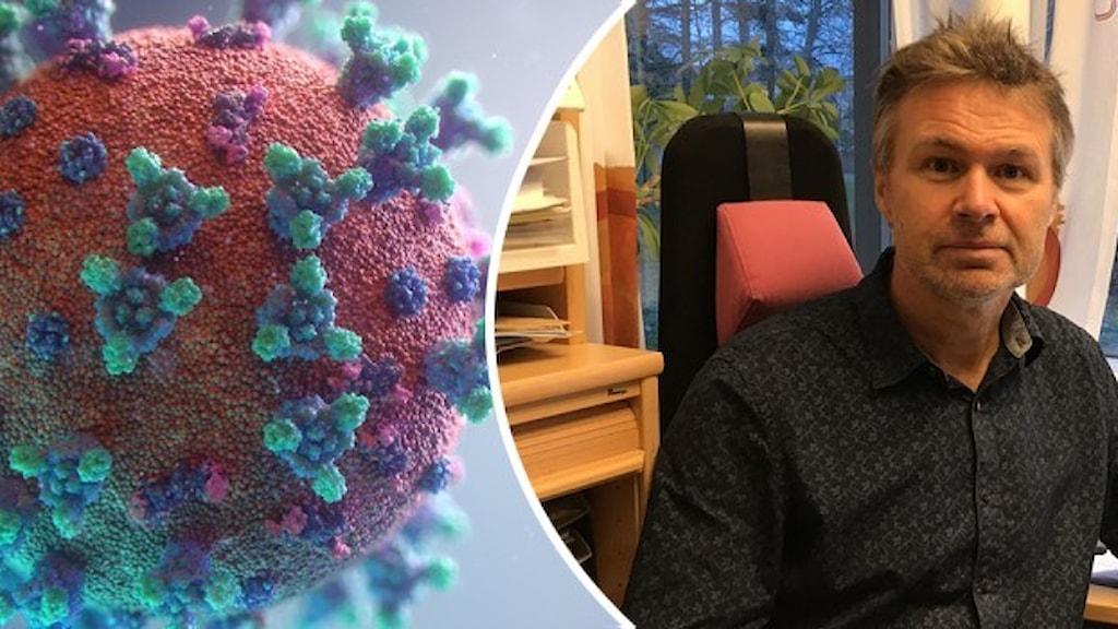 Stephan Stenmark och coronaviruset