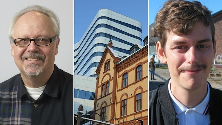 Tomas Wennström (S), Kulturhuset Väven och Erik Persson kulturdebattör