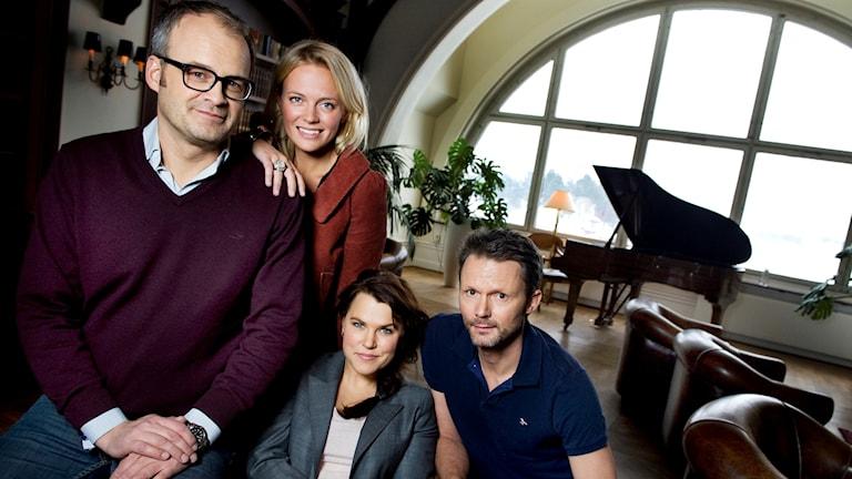 Filmen Solsidan har biopremiär den 1 december. Vår spanare Erica Dahlgren har varit på förhandsvisning.