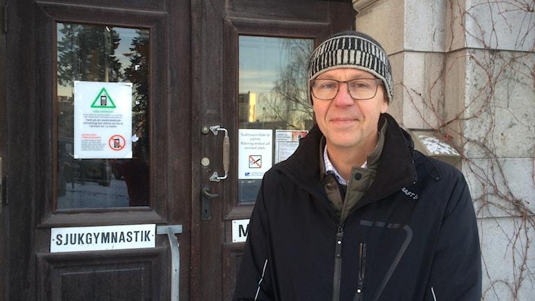 Ulf Widmark, fastighetschef på landstinget.
