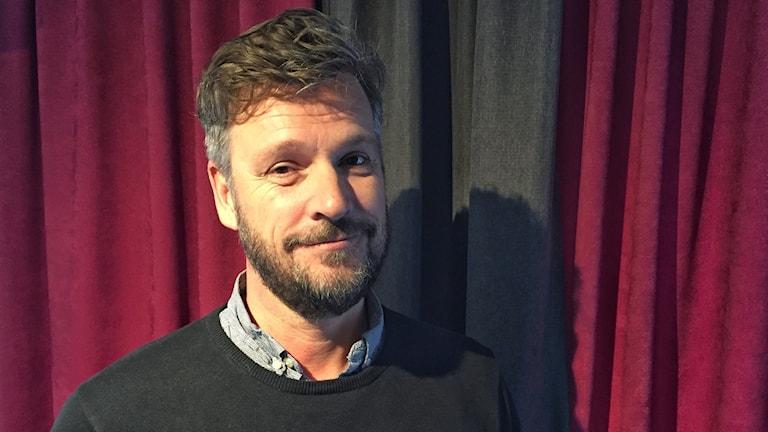 Robert Herrala projektledare Västerbottensteatern